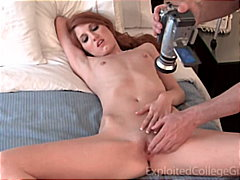 Sexy young redhead on ...
