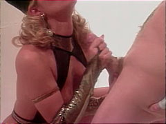 Hot blonde likes cock ...
