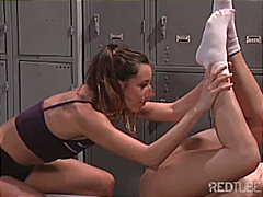 Girlsex in the locker ... from Redtube