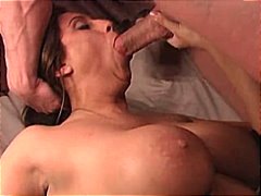 Whore facefucked and g...