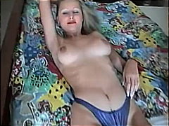 Young slut shows off