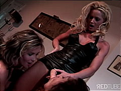 Lesbian threesome orgy from Redtube