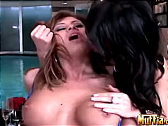 Lisa and her hot girlf... from Redtube