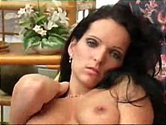 Sexy chick gets naked from Redtube