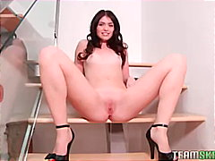 hot brunette Ashlyn Ra... from Keez Movies