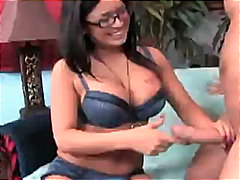 Eva Angelina in a bra ...