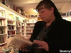 Keez Movies - Fat mature bookworm is...