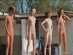 Seven naked girls like... from Keez Movies