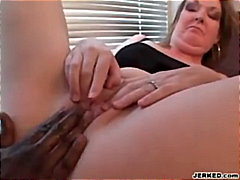 Mommy Enjoys Black Cock