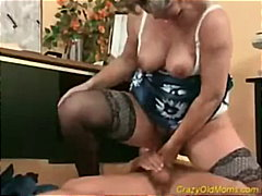 Keez Movies - Crazy Old Mom Gets Coc...