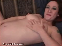 Hot Pregnant Woman Cum...