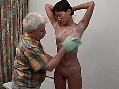 Asian Gets Soapy Massage