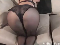 Black pantyhose fetish