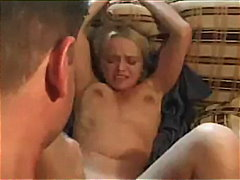 Sexy blonde gets drilled