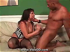 Interracial anal with ...