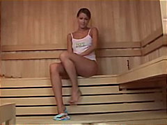 Keez Movies - Brunette teen jams her...