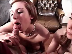 Amateur Double-blowjob from Keez Movies