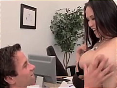 Big Breasted Asian Gets H...