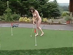 Playing Golf For The V...