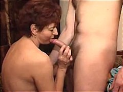 Mature drunk couple se...