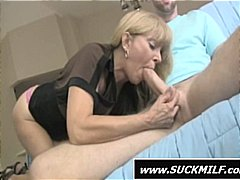 Blonde mom does a grea... from Nuvid
