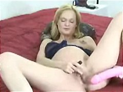 Pregnant blone gets ho...