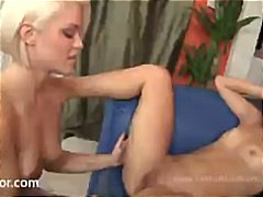Hot, blonde lesbians R... from Nuvid