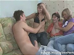 Teen couples share sex... from Nuvid