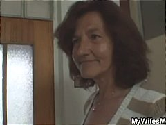 Wife catches her man f...