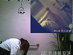 Tube8 - Spy Cam in Bathroom of...