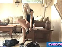Blonde drips pussy jui... from Tube8