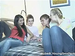 Tube8 - College roommates fuck...
