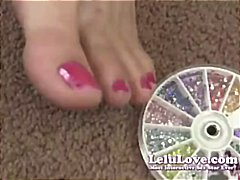 Lelu LoveFoot Fetish P... from Tube8