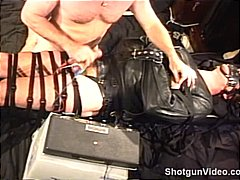 Totally bound hunk in ...