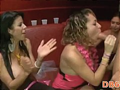 Strip dancer fucked boobs
