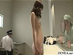 Japanese girl strips n...