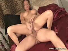 Nasty MILF in differen...