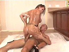 Trina Michaels Oiled Up