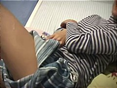 Kamilla 18 in bed from Xhamster