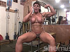 Big Muscle, Big Tits from Xhamster