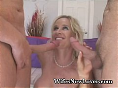 Wet MILF Bangs Two New Lo...