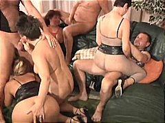 Orgy features many mil...