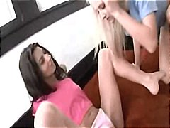 Lesbians playing with ... from Xhamster