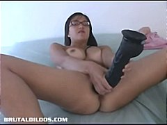 Asian amateur with a b...