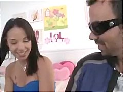 Young blonde gets a fu...