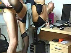 German-Hot Office Sex