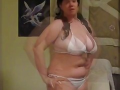Hot BBW showing her body
