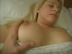 Son fucked hot mom's f...