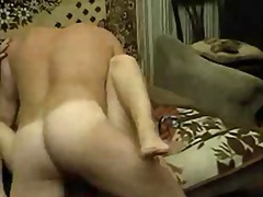 Man fucks blonde girl