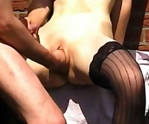 Xhamster - He Fists Her Pussy Whi...